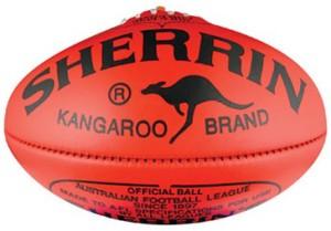 Sherrin AFL footy